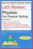 Let's Review Physics, Miriam Lazar, 0764142070