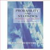 Probability and Statistics for Engineers and Scientists, Walpole, Ronald E., 0138402086