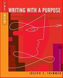 The New Writing with a Purpose, Trimmer, Joseph F., 0618412085