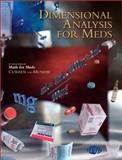 Dimensional Analysis for Meds, Curren, Anna M. and Munday, Laurie D., 0918082080