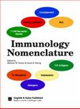 Immunology Nomenclature : The Immunologist, Supplement 1 1998, Natvig, Jacob B. and Turner, Malcolm W., 088937208X