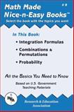 Integration Formulas, Combinations and Permutations, Probability, Research & Education Association Editors, 0878912088