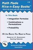 Integration Formulas, Combinations and Permutations, Probability, Research & Education Association Editors, 0878912088