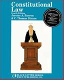 Constitutional Law, Barron, Jerome A. and Dienes, C. Thomas, 0314062092