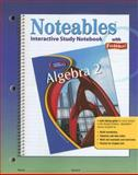 Algebra 2 : Noteables Interactive Study Notebook with Foldables, Zike, Dinah, 0078682096