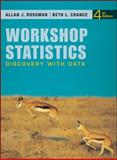 Workshop Statistics : Discovery with Data, Rossman, Allan J. and Chance, Beth L., 0470542098