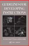 Guidelines for Developing Instructions, Inaba, Kay and Parsons, Stuart O., 041532209X