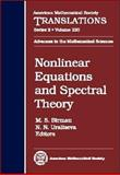 Nonlinear Equations and Spectral Theory, M. S. Birman and N. N. Uraltseva, 0821842099