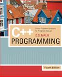 C++ Programming : From Problem Analysis to Program Design, Malik, D. S., 1423902092