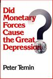 Did Monetary Forces Cause the Great Depression?, Temin, Peter, 0393092097