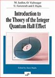 Introduction to the Theory of the Integer Quantum Hall Effect, Janssen, M., 3527292098