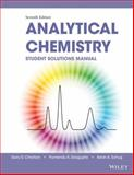 Student Solutions Manual to Accompany Christian, Analytical Chemistry 7th Edition