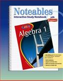 Algebra 1 : Interactive Study Notebook with Foldables, Zike, Dinah, 007868210X