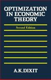 Optimization in Economic Theory 9780198772101
