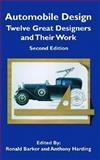 Automobile Design, Ronald Barker and Anthony Harding, 1560912103