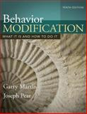 Behavior Modification, Martin, Garry and Pear, Joseph, 0205992102