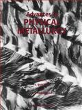 Advances in Physical Metallurgy 9782884492102