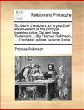 Scripture Characters, Thomas Robinson, 1140822101