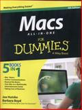 Macs All-In-One for Dummies, Joe Hutsko and Barbara Boyd, 1118822102