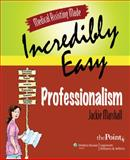 Professionalism, Springhouse Publishing Company Staff and Marshall, Jackie, 0781772109