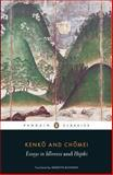 Penguin Classics Essays in Idleness, Yoshida Kenko, 0141192100