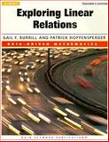 Exploring Linear Relations : Algebra, Burrill, Gail F. and Hopfensperger, Patrick, 157232211X