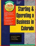 Starting and Operating a Business in Colorado, Michael D. Jenkins and Greg Romberg, 1555712118