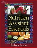 Nutrition Assistant Essentials, Acello, Barbara, 1401872115