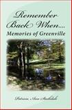 Remember Back When... ., Patricia Stockdale, 1466362111