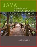 Java : An Introduction to Problem Solving and Programming, Walter Savitch, 0133862119