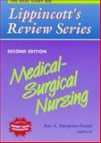 Medical Surgical Nursing, Ray A., Rn Hargrove-Huttel, 0397552122
