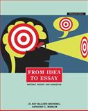 From Idea to Essay, McCuen-Metherell, Jo Ray and Winkler, Anthony, 0495912123