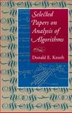 Selected Papers on Analysis of Algorithms, Knuth, Donald E., 1575862123