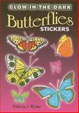 Glow-in-the-Dark Butterflies Stickers, Patricia J. Wynne, 0486462129