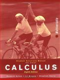 Calculus, Student Solutions Manual: MV : Multivariable, Anton, Howard and Bivens, Irl C., 0471672122