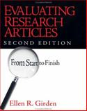 Evaluating Research Articles from Start to Finish, Girden, Ellen R., 076192213X