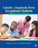 Culturally and Linguistically Diverse Exceptional Students : Strategies for Teaching and Assessment, Grassi, Elizabeth A. and Barker, Heidi Bulmahn, 1412952131