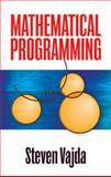 Mathematical Programming, Vajda, Steven, 0486472132