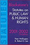 Statutes on Public Law and Human Rights : 2001-2002, Wallington, Peter and Lee, R. G., 1841742139