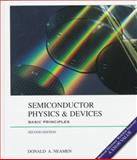 Semiconductor Physics and Devices : Basic Principles, Neamen, Donald A. and MathSoft, Inc. Staff, 0256242143