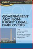 Vault Guide to the Top Government and Non-Profit Legal Employers, Marcy Lerner, 1581312148