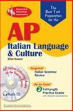 AP Italian Language and Culture Exam, Ellen V. Knauer, 0738602140