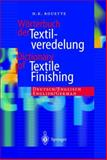 Worterbuch der Textilveredelung : Deutsch/English, Rouette, Hans-Karl, 3540432140