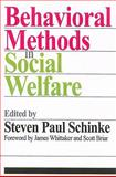 Behavioral Methods in Social Welfare, , 0202362140