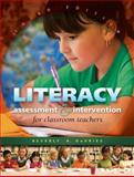 Literacy Assessment and Intervention for Classroom Teachers, DeVries, Beverly A., 1934432156