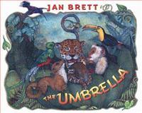 The Umbrella, Jan Brett, 0399242155