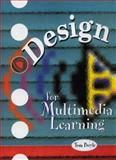 Design for Multimedia Learning, Boyle, Tom, 0132422158