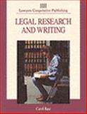 Legal Research and Writing, Bast, Carol M., 0827362153