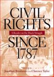 Civil Rights since 1787 9780814782156