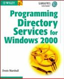 Programming Directory Services for Windows 2000, Donis Marshall, 0471152161